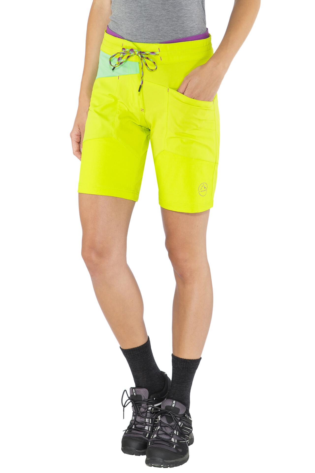 La Sportiva TX Short Femme, apple greenjade green